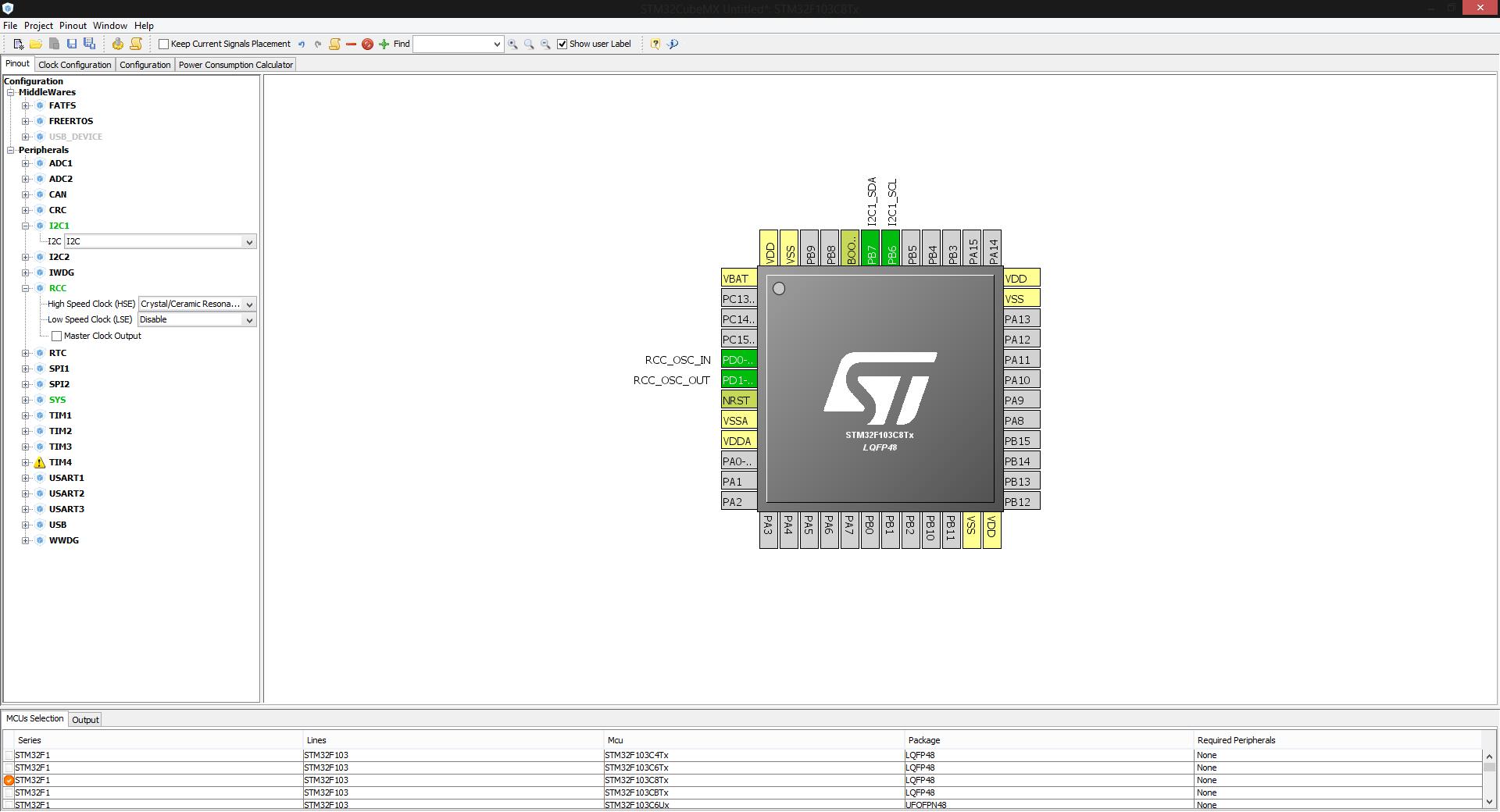 Блиблиотека OLED дисплея SSD1306 для STM32 микроконтроллеров